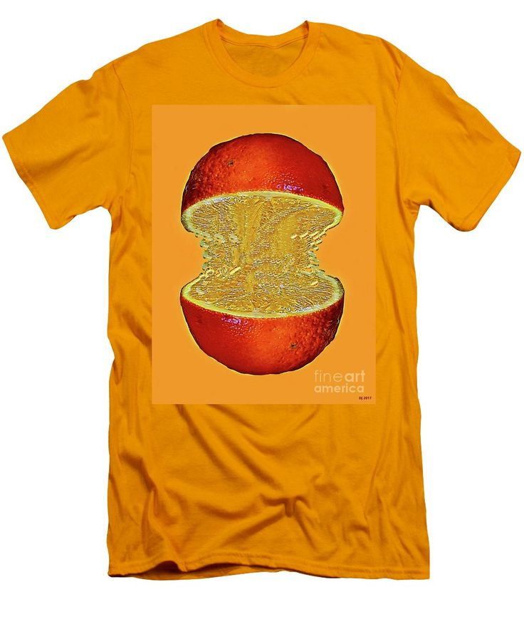 Purchase a t-shirt featuring the image of Sweet Orange by Daniel Janda. Available in sizes S - XXL. Each t-shirt is printed on-demand, ships within 1 - 2 business days, and comes with a 30-day money-back guarantee.