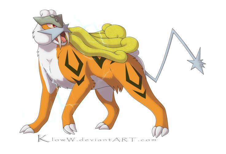 Squishy Dog From Pokemon : Image Gallery Shiny Raikou