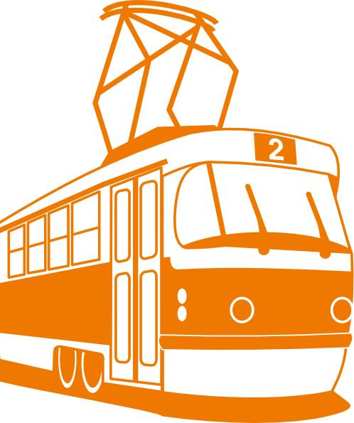 Tramway clip art - vector clip art online, royalty free & public ...