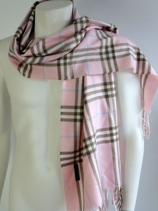 Burberry - cashmere sjaal - vintage | eBay