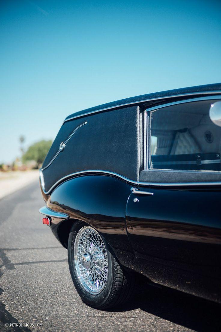 Jaguar e type hearse harold and maude recreation by ken