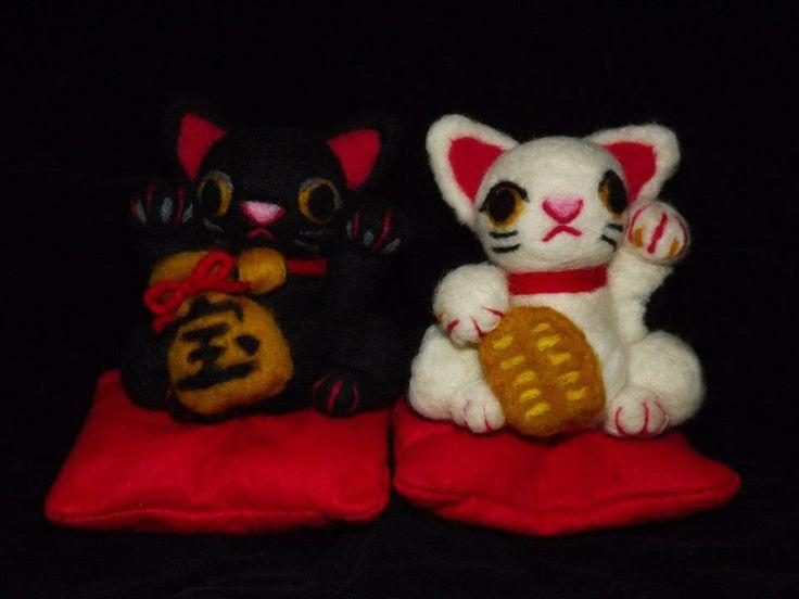 Gatitos Japoneses de la Suerte