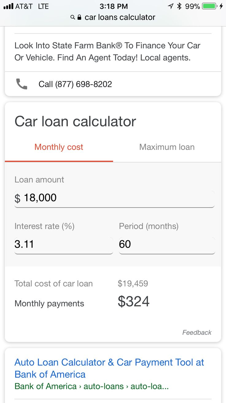 Pin by Barbara Cappiello on Cars Car loan calculator