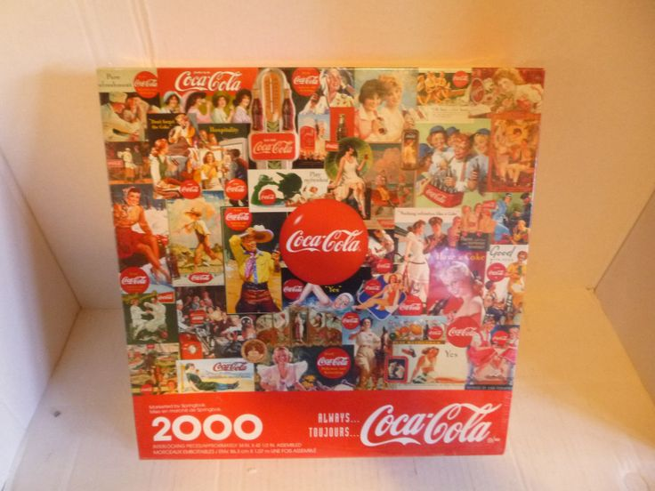 1998 Coca Cola Puzzle 2000 Pieces