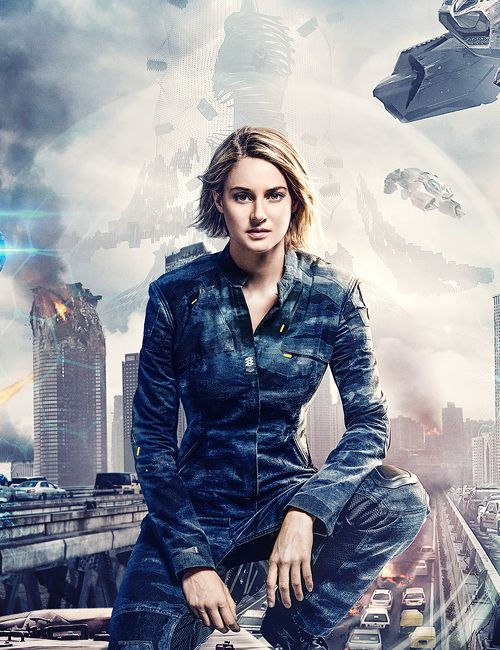 Shailene Woodley - The Divergent Series: Allegiant - China Character Posters