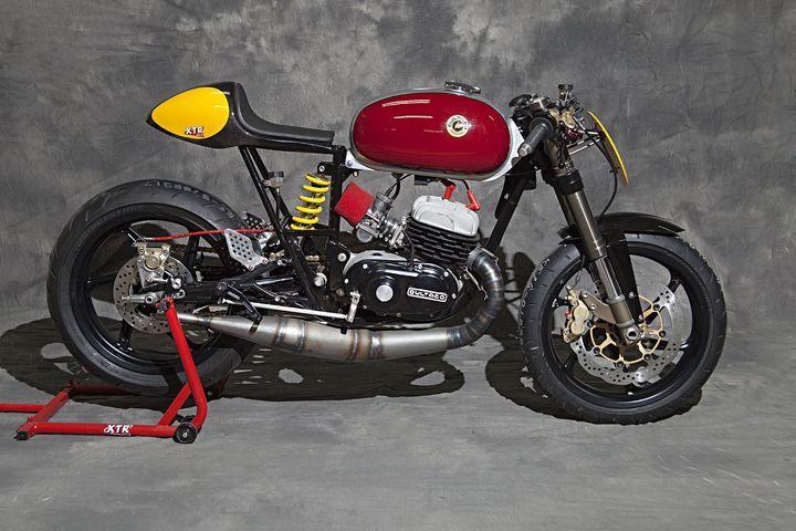 "Bultaco Mercurio 125 Cafe Racer ""Clandestine"" by XTR Pepo"