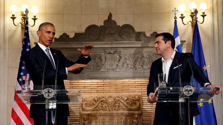 "US PRESIDENT BARACK OBAMA VISITING ATHENS on Tuesday (NOV 15, 2016) has backed Greek Prime Minister Alexis Tsipras' call for a restructuring of Greek debt. In a friendly meeting the 2 leaders also discussed the refugee crisis, Turkey & prospects for resolving problems in Cyprus. On the issue of Greek debt, Alexis Tsipras said that after 7 years the Greek economy & Greek society could not bear any more austerity. In his turn President Barack Obama said: ""As Greece continues its reforms, the…"