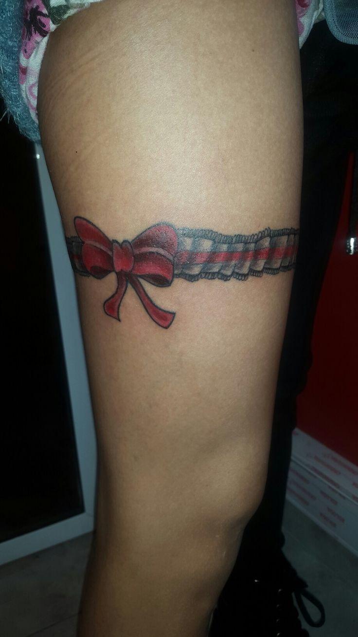 Liga con moño tattoo by griselda tatuadora