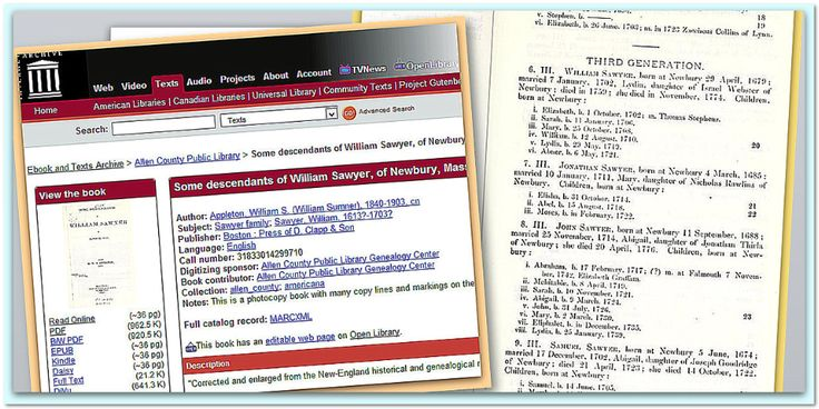 Top Genealogy Websites, Pt. 2: Google Books & Internet Archive. Read the full article at the GenealogyBank blog: http://blog.genealogybank.com/top-genealogy-websites-pt-2-google-books-internet-archive.html