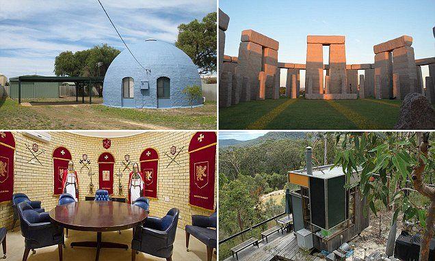 The strangest homes for sale in Australia revealed