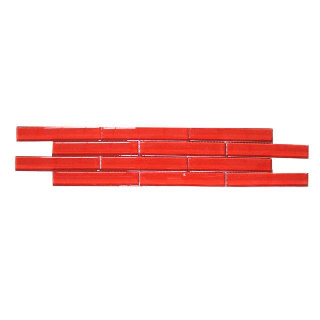Listel muretto rouge 10 x 53 cm castorama id es sdb - Listel salle de bain castorama ...