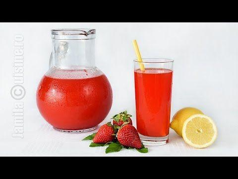Limonada cu capsuni | JamilaCuisine - YouTube