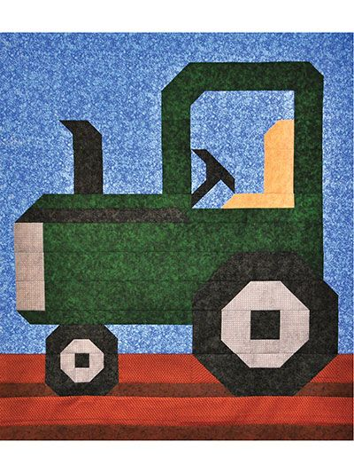 Tractor Sewing Pattern : Best tractor quilt ideas on pinterest baby