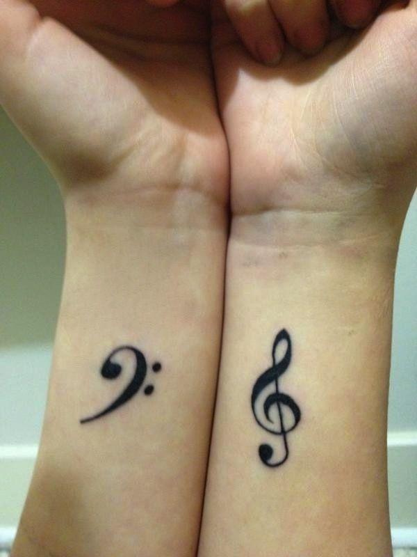 unique Friend Tattoos – Small Tattoos for Girls #tattoodesign #tattooforwomen #tattooideas #Tattoosforwomen