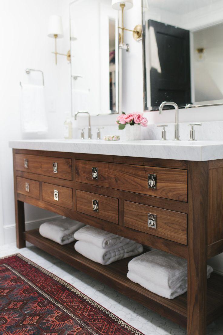 Diy vintage bathroom vanity - Mission Bin Pull Antique Bathroom Vanitiesbathroom