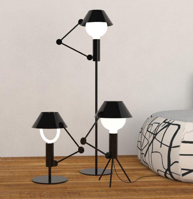 MR. LIGHT LAMP. NEMO CASSINA. Estudio Mariscal