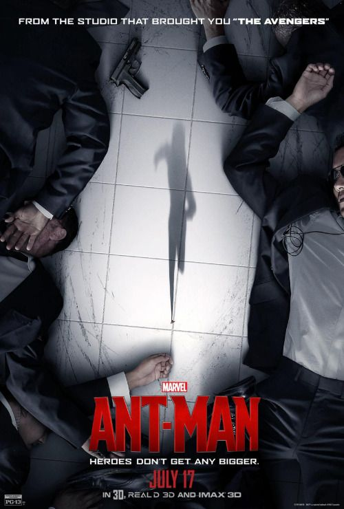 """Heroes don't get any bigger. See Marvel's """"Ant-Man"""" in theaters tomorrow, July 17!"""