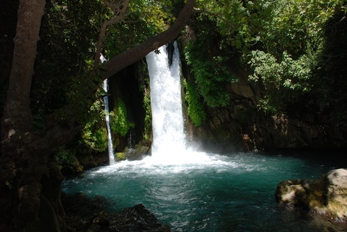 Banias waterfall, Israel