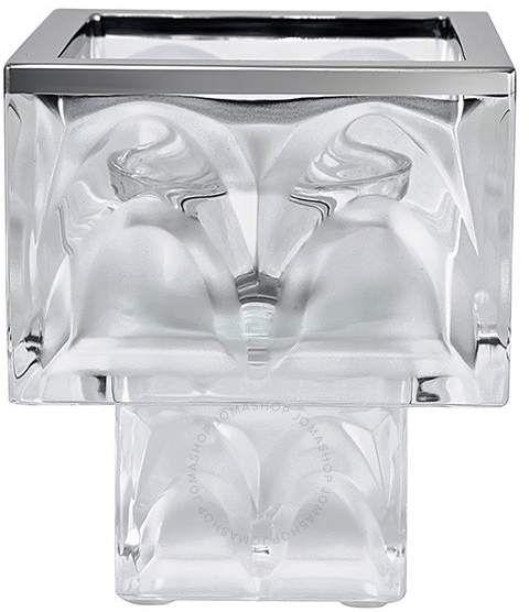 Lalique Manhattan Votive Crystal Candle Holder 10118500