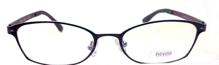 Piovino Prescription Eyeglasses PV Sk 3522 C4 Metal Frames. Metal Eyeglasses. Rxable Frames. Super Light. Super Strong.