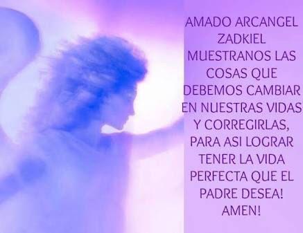 Arcangel Zadquiel Oracion