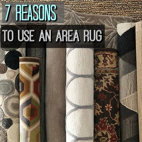 It's amazing how much an area rug can transform a room. If you're looking to roll out big style—for a modest outlay of cash—opting for an area rug is a good way to go. When shopping for the right area rug, choose one that's roughly the same shape as the accompanying furniture. Cluster the furniture around it or on top of it, place a table, desk or bed at its center—and you're good to go!