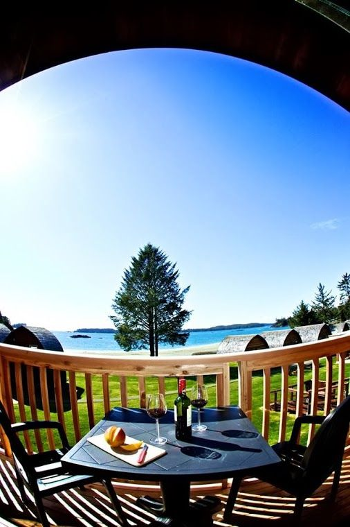Summer days at Ocean Village #Tofino
