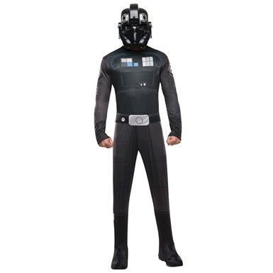Mens Star Wars Tie Fighter Halloween Costume – Star Wars Rouge One Costumes