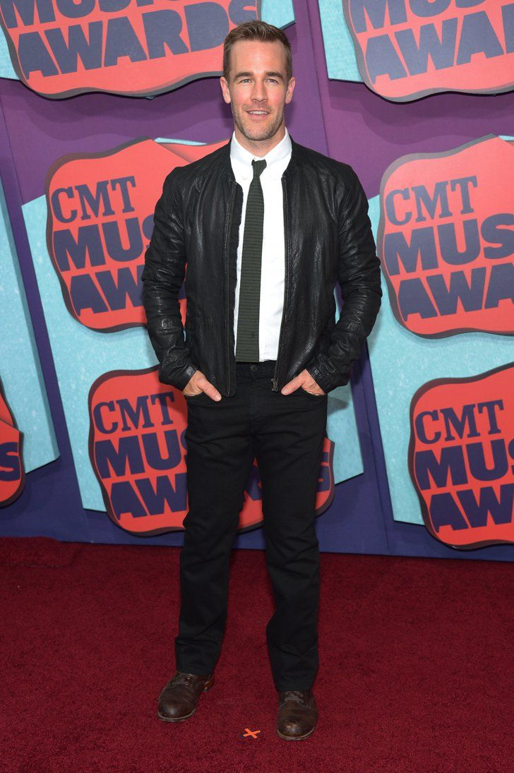 Pin for Later: Ganz im Country-Fieber: Seht die Stars von den CMT Awards! James Van Der Beek
