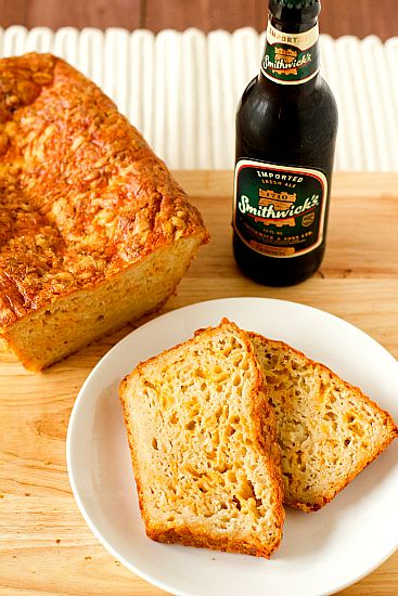 Irish Beer and Cheese Bread- brown eyed baker