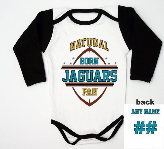 e887d5fa0 ... Packers Romper For New Fan. Jaguars Baby Bodysuit   Jacksonville Baby  Shirt   Football Baby Shower   Coming home outfit   Infant