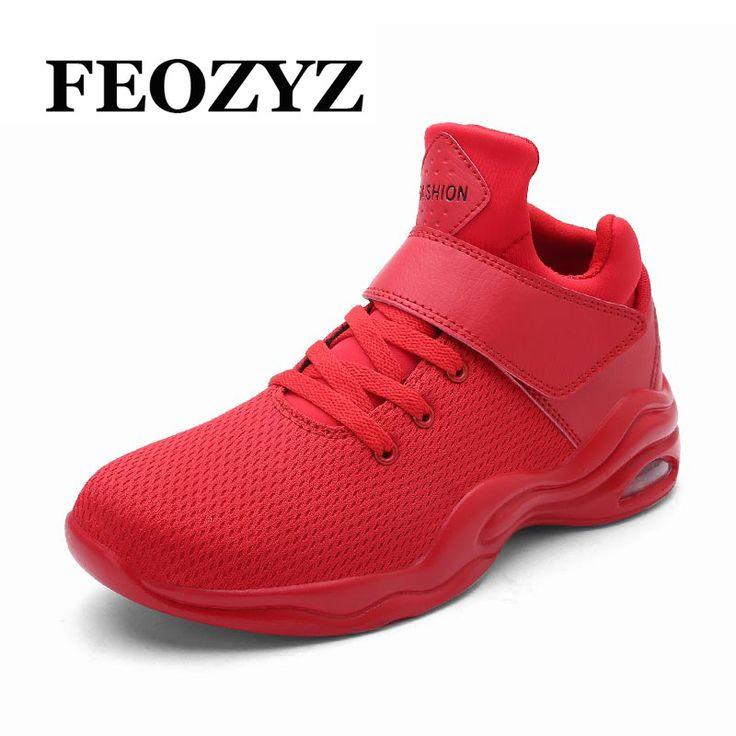 FEOZYZ Air Cushion Dampping Basketball Shoes Men Breathable Air Mesh Mens Sneakers Basketball Zapatillas De Baloncesto  #Affiliate