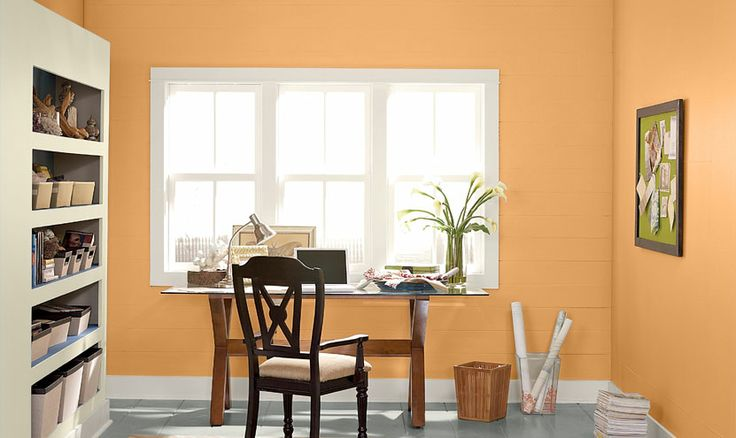 This valspar colour palette of pumpkin bread ci97 for Pumpkin spice paint living room