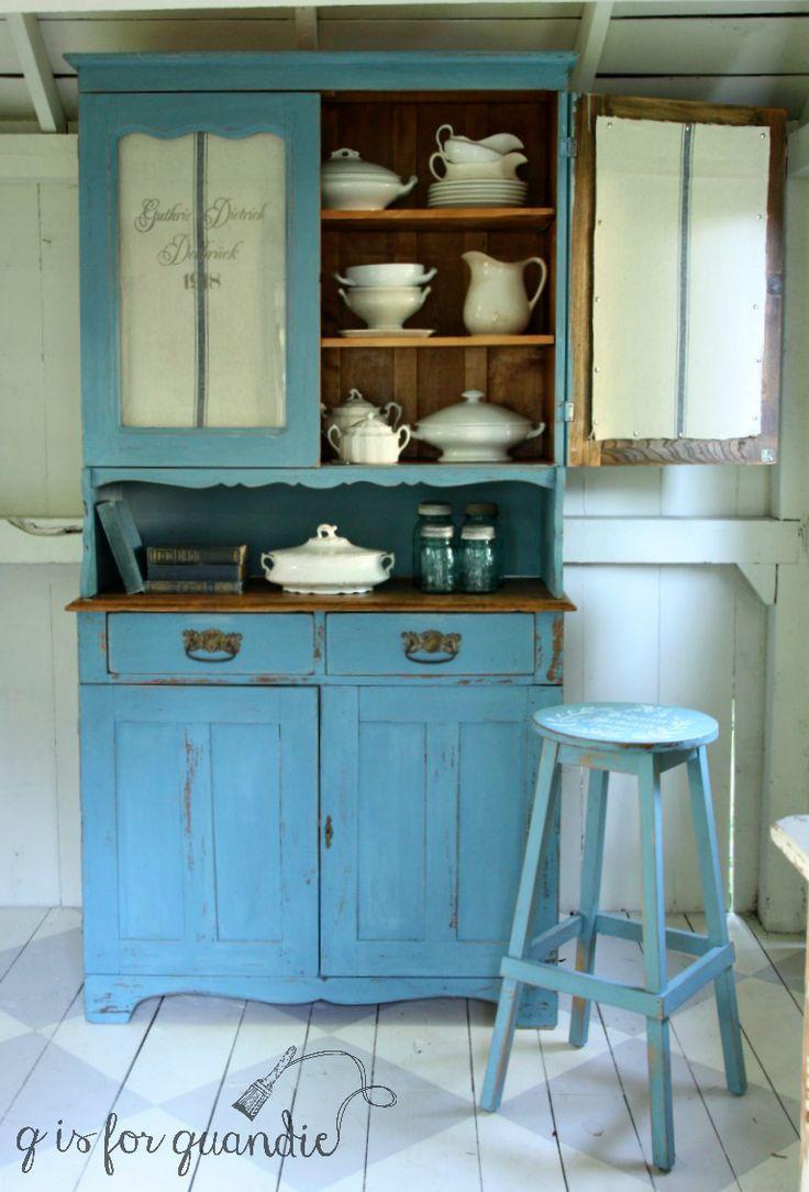 382 best Blue Chalk Painted Furniture. images on Pinterest | Blue ...