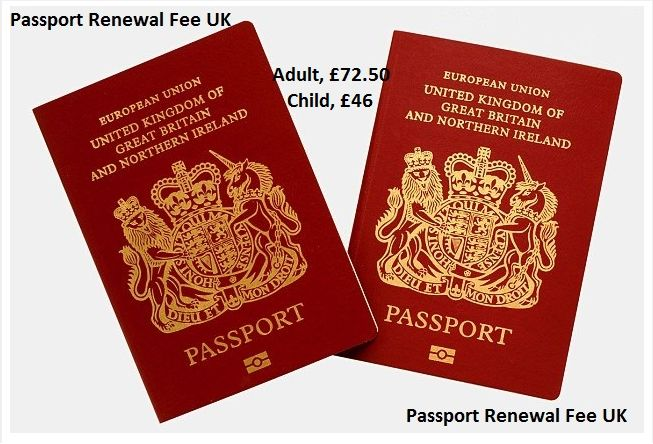 The standard Passport Renewal Fee UK of adult first passport or renewal costs can be up to £72.50. while those brothers and sister that are under the age of adultery they can have the passport in cost of £46. This standard is only maintaining by the government of United Kingdom. And if you are applying from any other country then you can face the different pricing scenario.