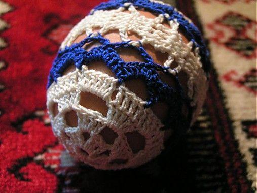 Gabriela.art / Háčkované vajce 8