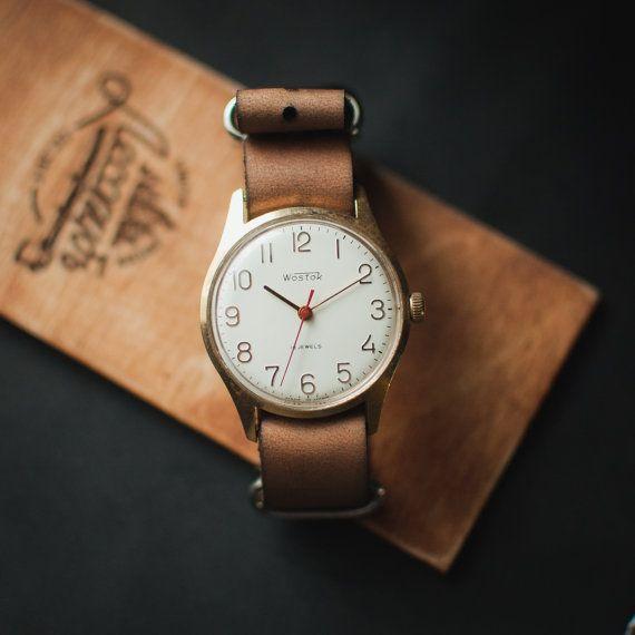 Original Vostok watch, watch for man, vintage man watch, russia watch, woman watch, mechanical watch, ussr watch, soviet watch