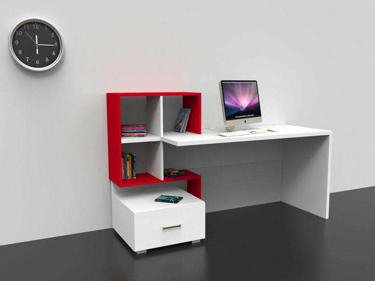 Çalışma Masası ve Kitaplık Modelleri - http://pemberuj.net/arsiv/109125/calisma-masasi-ve-kitaplik-modelleri/