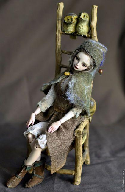 Коллекционные куклы ручной работы. Лалайт. Лесной эльф. Lalait. Ярмарка Мастеров. Кукла, мохер 100%