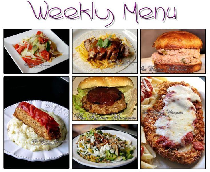 Weekly Menu Food Truck