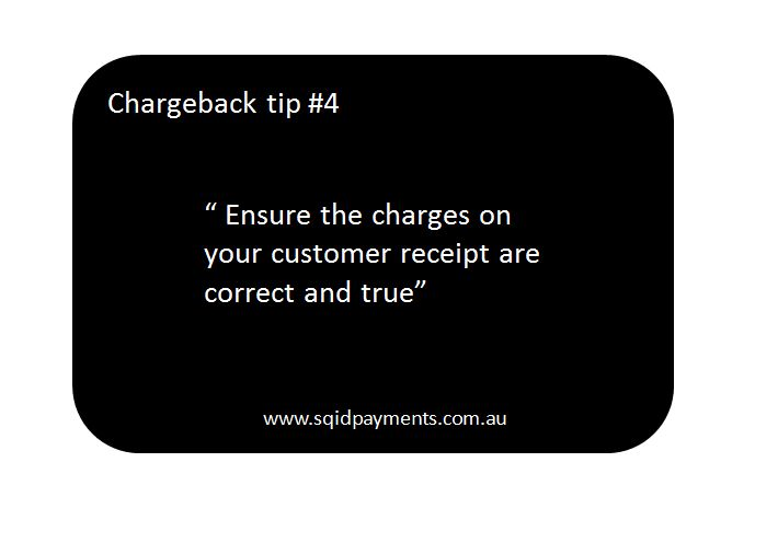 Chargeback tip #4