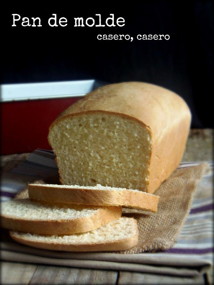 sopla que te quemas: Pan de molde casero, receta fácil paso a paso