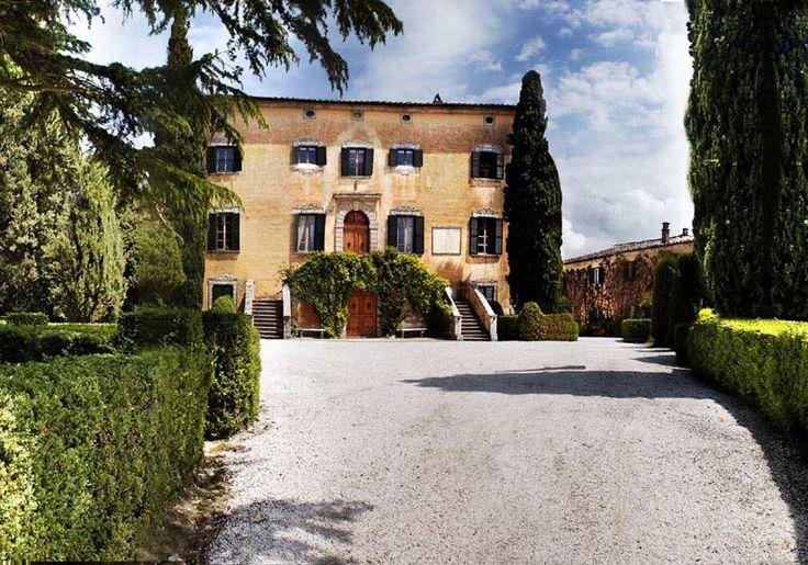 VILLA DI ULIGNANO près de Volterra, province de Pise. Jusqu'à 40 personnes. Idéale pour mariages, fêtes familiales,.. http://www.destination-italie.net/appartement-location-italie-1209.html