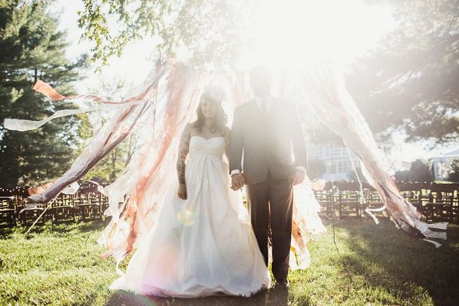 Bride and groom portraits. A Glittering Outdoor Autumnal Wedding Copyright Sarah Culver Photography.