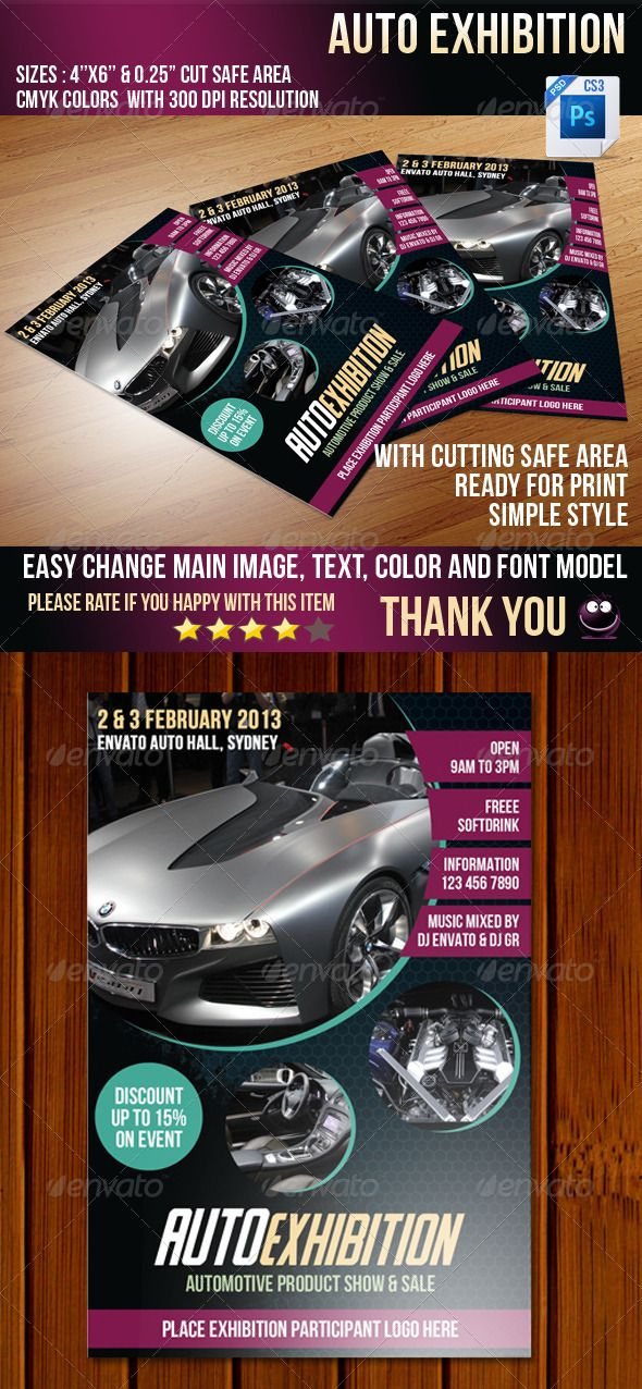 23 best Car Flyer images on Pinterest Cars, Advertising and Facades - car flyer template