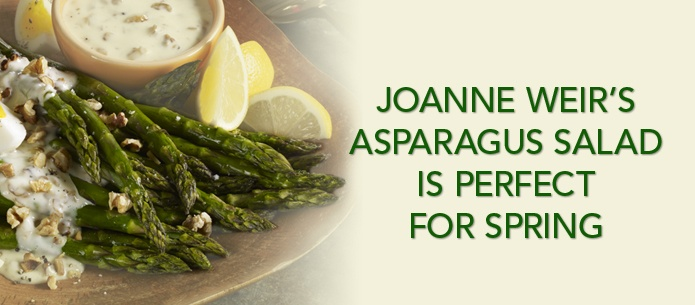 Joanne Weir's Asparagus Salad is perfect for spring