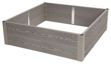 Forever Raised Bed, 3' X 3' transitional-gardening-tools