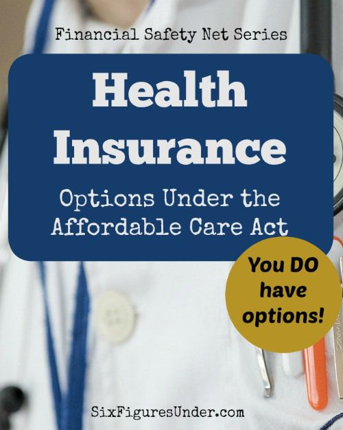 Health Insurance Options Under The Affordable Care Act Health