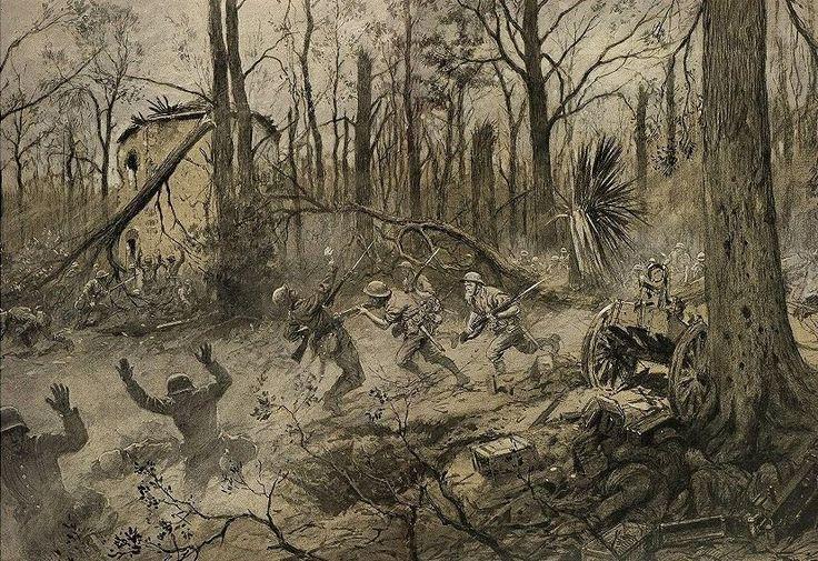 Battle of Belleau Wood 1917