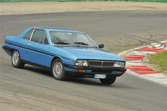 lancia_gamma_coupe on a circuit ......